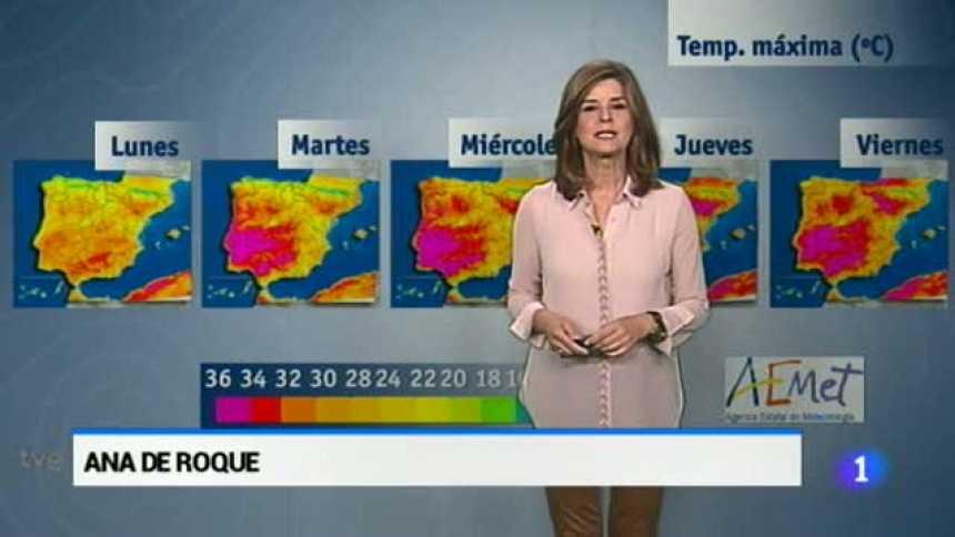 El tiempo en Extremadura - 22/05/17