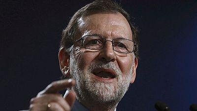 Rajoy cree que la reelección de Sánchez no va a cambiar nada y vuelve a descartar un adelanto electoral