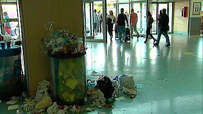La huelga de los trabajadores de la limpieza en el aeropuerto de Ibiza podría obligar a cerrar las instalaciones