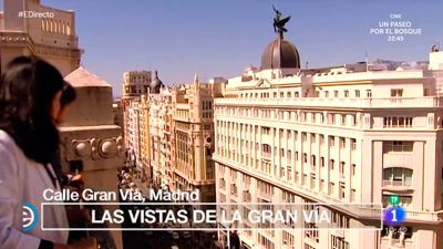 España Directo - La Gran Vía madrileña cumple 107 años de vida