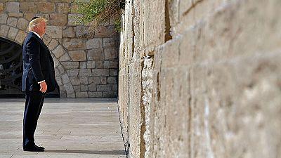 Trump, ante el Muro de las Lamentaciones