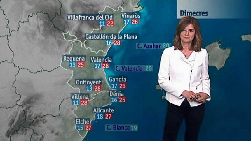 El tiempo en la Comunidad Valenciana - 23/05/17