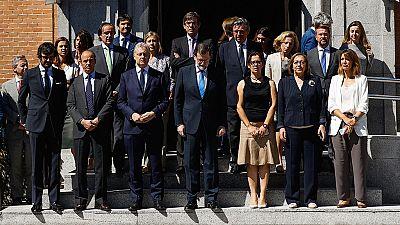 Mariano Rajoy condena el ataque terrorista y muestra su pesar a las familias de las víctimas