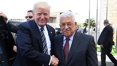 Donald Trump se reune con el presidente palestino Mahmud Abbas en su segunda jornada en Oriente Próximo