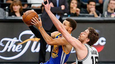 El vendaval de los Warriors ha pasado por encima de los Spurs de Pau Gasol, que ha puesto punto y final a su temporada. Golden State jugará las Finales de la NBA una vez más.
