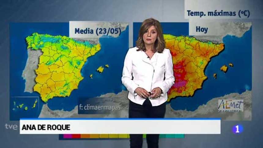 El tiempo en Andalucía - 23/05/17