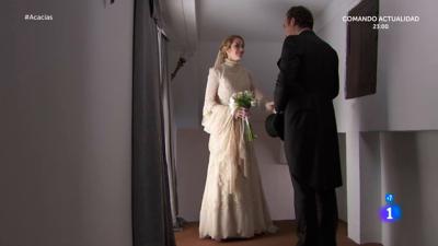 Acacias 38 - Elvira habla con su padre antes de casarse