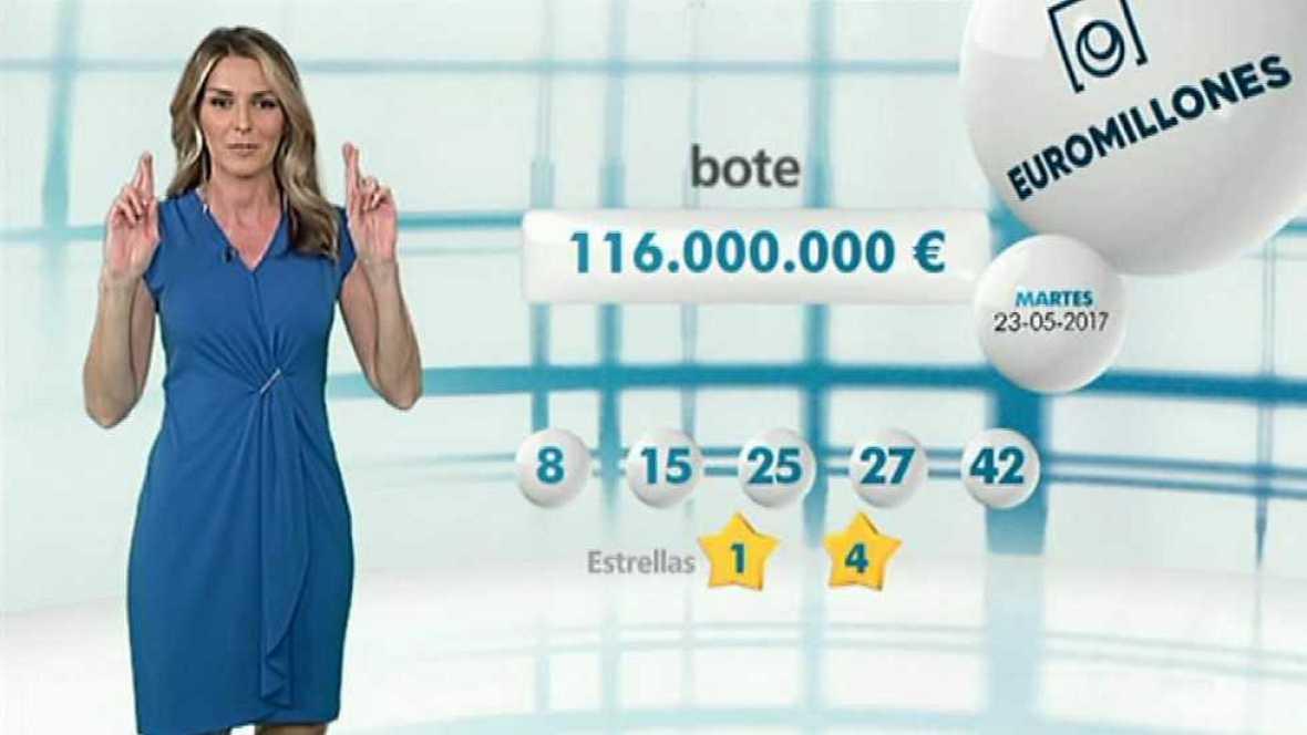Bonoloto + EuroMillones - 23/05/17 - ver ahora