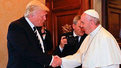 El Pontífice ha recordado al presidente de EE.UU. cuestiones como la necesidad de paz y la importancia del medioambiente.