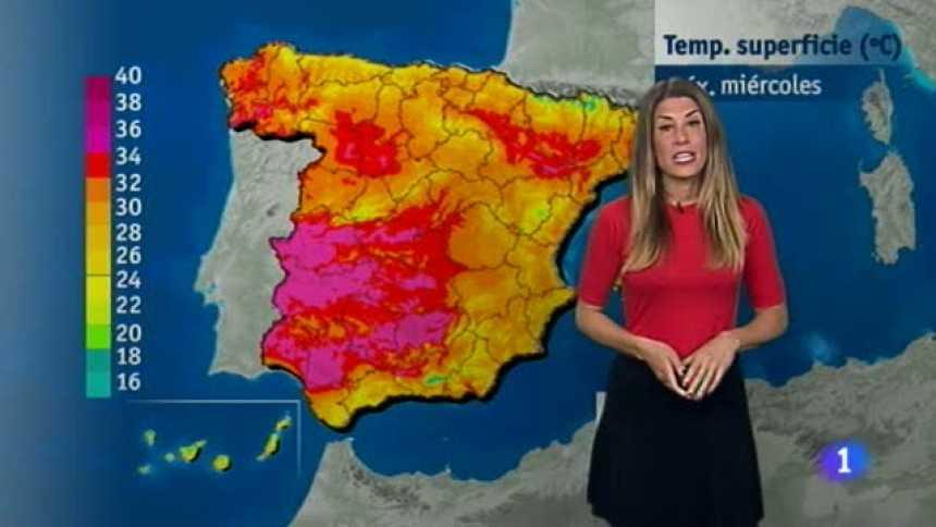 El tiempo en Extremadura - 24/05/17