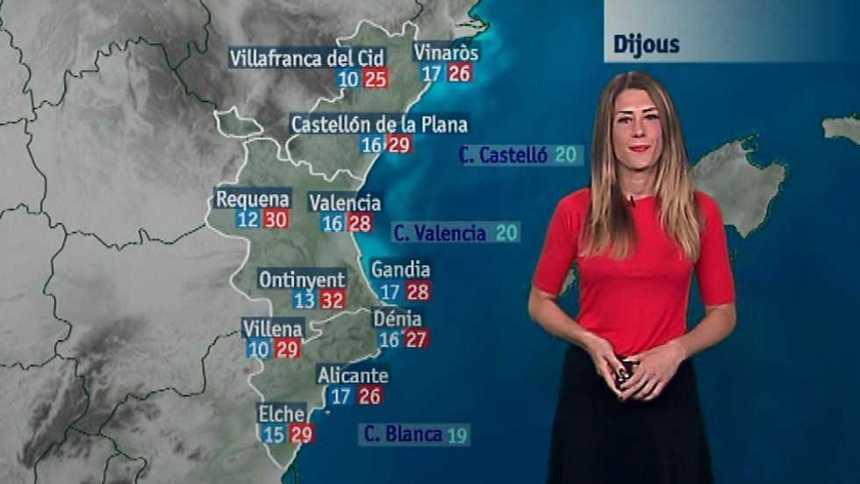 El tiempo en la Comunidad Valenciana - 24/05/17