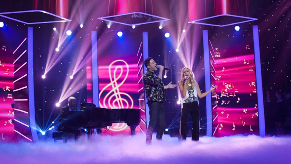 """Fantastic Duo - Marta Sánchez y Eduardo Fasanar arrasan con """"Vivo por ella"""""""
