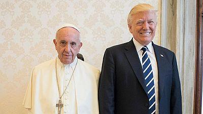 El papa Francisco pide a Donald Trump que sea 'un instrumento de paz'