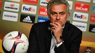El entrenador del Manchester United, Jose Mourinho, mandó un mensaje de condolencia a las víctimas del atentado de Manchester tras ganar la Europa League.
