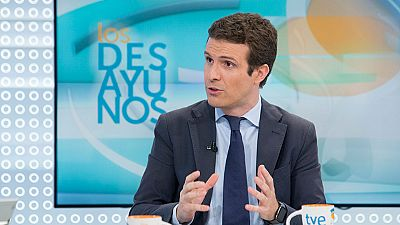 """Casado (PP): """"No vamos a tolerar un intento de golpe de estado como es la hoja de ruta soberanista"""""""