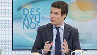Los desayunos de TVE - Pablo Casado, vicesecretario de Comunicación del Partido Popular - ver ahora