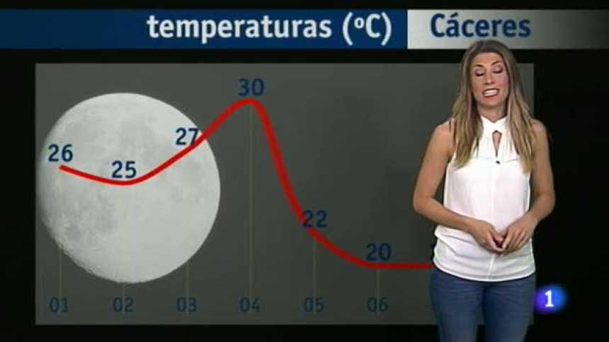 El tiempo en Extremadura - 25/05/17