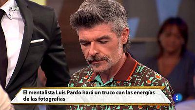 Hora Punta - El mentalista Luis Pardo nos muestra una experiencia con Nacho Guerreros¿ con las energías de unas fotografías. ¡Simplemente BRUTAL!