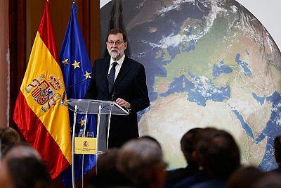 Respuesta contundente de Rajoy a Puigdemont