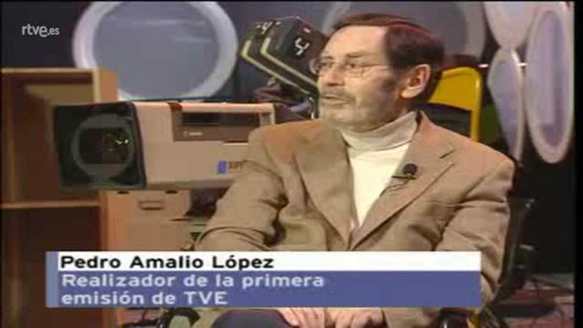 Història de TVE - Pedro Amalio López ens explica com va ser la realització de la primera emissió