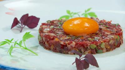 Torres en la cocina - Tartar de jamón ibérico