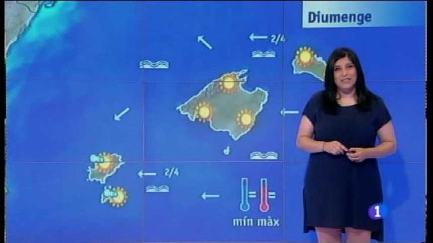 El temps a les Illes Balears - 26/05/17