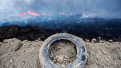 Un empresario declara ante el juez por el incendio en el cementerio de neumáticos de Seseña