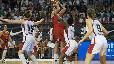 Baloncesto - 'Gira' Selección Femenina: España - Canadá - ver ahora