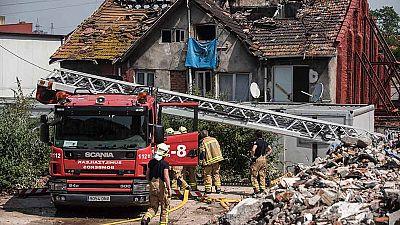 Cuatro muertos, entre ellos un bebé, en un incendio de edificio en Bilbao