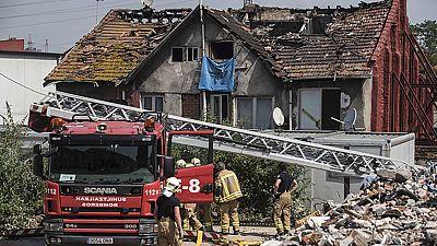 Cuatro fallecidos en el  incendio de un edificio en Bilbao