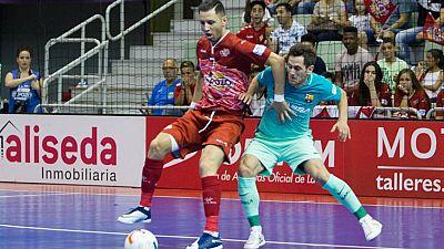 LNFS. Playoff semifinales 1. ElPozo 3-2 FC Barcelona. Resumen - ver ahora