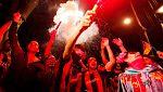 La afición azulgrana celebra la 29ª Copa en Canaletas
