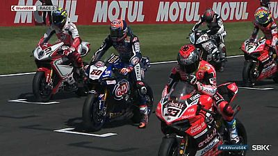 Motociclismo - Campeonato del Mundo Superbike. WSBK 2ª Carrera prueba Donington (Inglaterra) - ver ahora