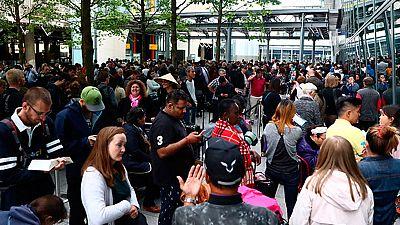 Caos en el aeropuerto londinense de Heathrow provocado por la caída del sistema informático de la compañía Brithis Airways