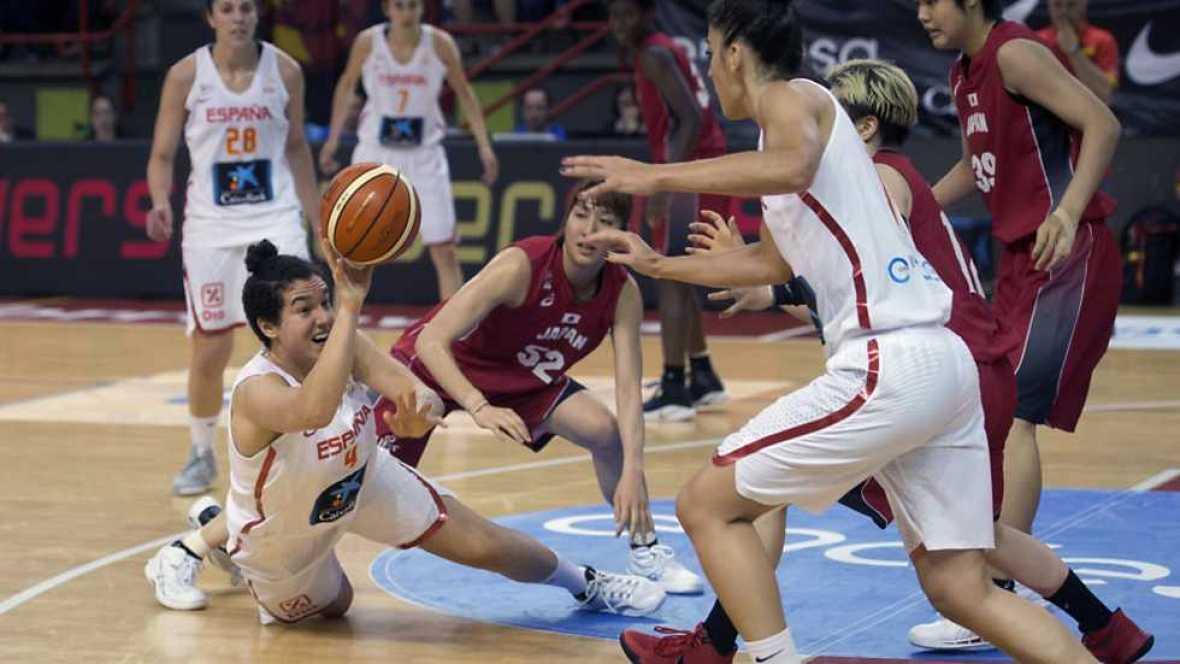 """Baloncesto - """"Gira"""" Selección Femenina: España - Japón - ver ahora"""