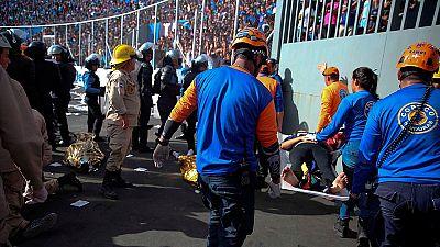 Cinco muertos en una estampida en la final de liga de fútbol en Honduras