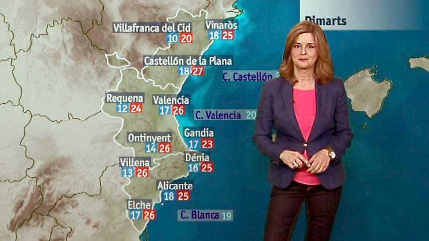 El tiempo en la Comunidad Valenciana - 29/05/17