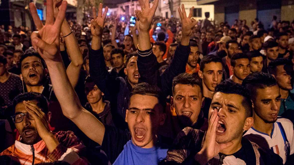 Protestas en el norte de Marruecos