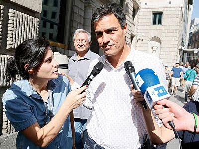 La gestora deja en manos de Sánchez la  decisión sobre la moción de Podemos
