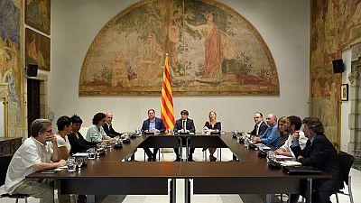 """El Govern ve en """"vía muerta"""" negociar con Rajoy e inicia los pasos para un referéndum unilateral"""