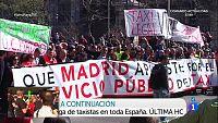 Huelga de taxis en España