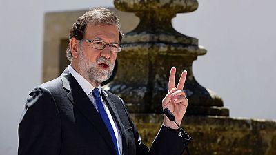 Rajoy satisfecho con la llamada de Sánchez, a pesar de sus diferencias