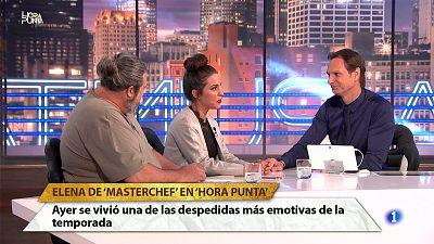 """Hora Punta - Elena de Master Chef 5: """"La prueba de eliminación ha habido diferencias entre unos y otros"""""""