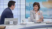 Los desayunos de TVE - Carmen Calvo, exministra de Cultura - ver ahora