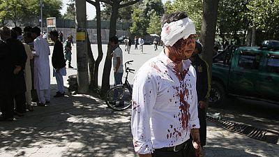 Al menos ochenta personas han muerto y unas 350 han resultado heridas en un atentado en Kabul