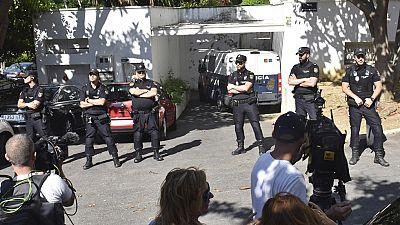 Prisión incondicional para un detenido por el atropello de Marbella y prisión eludible bajo fianza de 25.000 euros para el otro