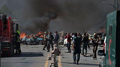 Un atentado con camión bomba mata a 90 personas en Kabul
