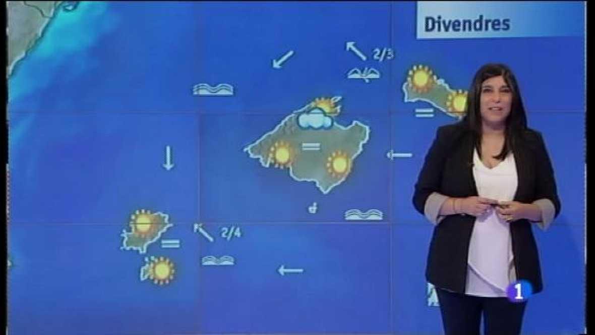 El temps a les Illes Balears - 01/06/17