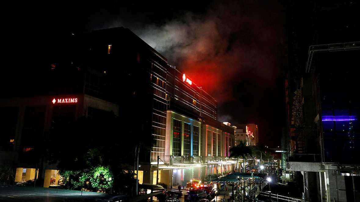 Tiroteo en un complejo hotelero de Manila