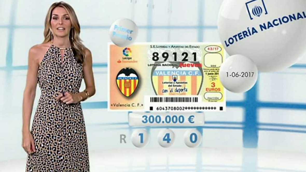 Lotería Nacional + La Primitiva + Bonoloto - 01/06/17 - ver ahora